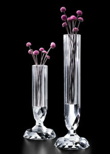 Wholesale Round Glass Crystal Bud Vases pictures & photos