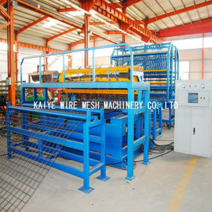 CNC Row Wire Mesh Welding Machine pictures & photos
