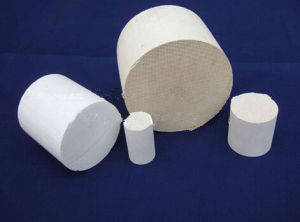 Honeycomb Ceramic Substrate Ceramic Honeycomb Catalyst for Car pictures & photos