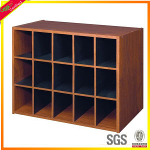 Melamine Wooden Pigeon Hole File Cabinet For Office Furniture