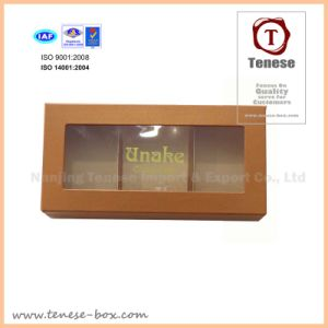 New Style Fancy Paper Chocolate Gift Window Box