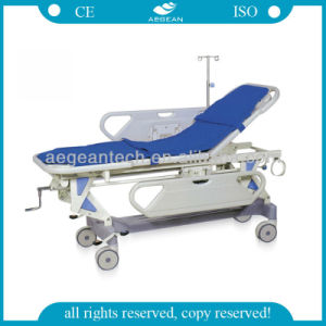 AG-HS002 Hospital Modern ABS 4 Functions Hospital Stretcher Prices pictures & photos