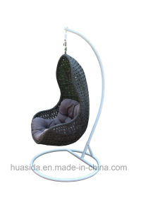 Waterproof Outdoor Rattan Hanging Chair K/D pictures & photos