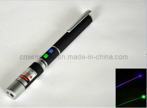 Blue Violet + Green Laser Pointer