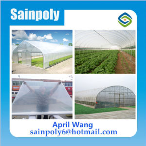 Low Cost Agricultural Plastic Film Greenhouse Tunnel pictures & photos