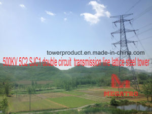 500kv 5c2 Sjc1 Double Circuit Transmission Tower pictures & photos