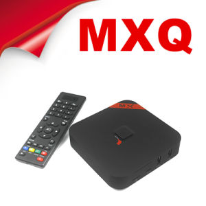 OEM Mxq H265 Xbmc13.1 1.5GHz 1GB/8GB Android 4.4 Android Quad Core Amlogic S805 Android TV Box