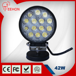 CE IP68 Certificate 42W LED Auto Offroad Work Light pictures & photos