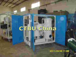 Vacuum Hydraulic Oil Purifier machine pictures & photos
