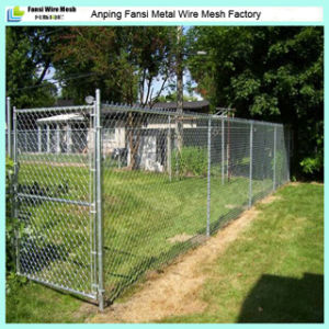 China Galvanized Chain Link Fencing With T Post Or Y