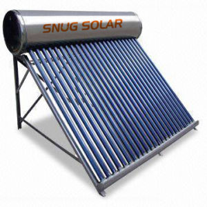Thermosiphon Vacuum Tube Solar Water Heater pictures & photos