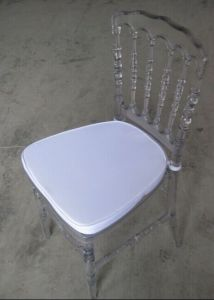 Acrylic Resin Napoleon Chair for Event pictures & photos