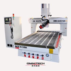 CNC 4axis Router Machine with ISO