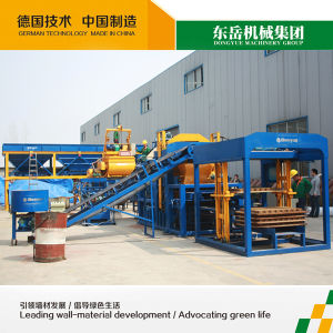 Qt10-15 Fly Ash Brick Machine, for Block Making, Production Charts Brick Making Qt10-15 Dongyue pictures & photos