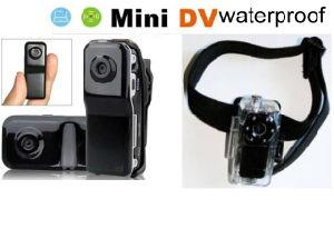 Mini DV HD Video Recorder Thumb Camera W/Waterproof MD80