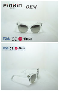 Wholesale Quality Titanium Sunglasses with Matel Frame Temple UV400 Protection Ce FDA