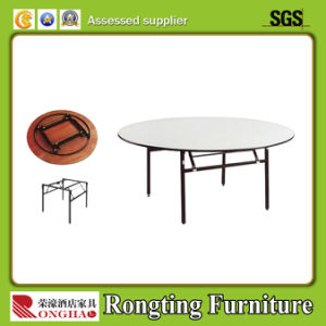 Hotel Metal Round Banquet Folding Table (1520 Dia*760Hmm)
