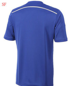2014/2015c Helses Blue Jersey Soccer Jersey Football Jersey pictures & photos