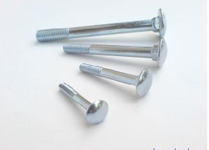 Carriage Bolts DIN603 with Zinc Plated Carbon Steel