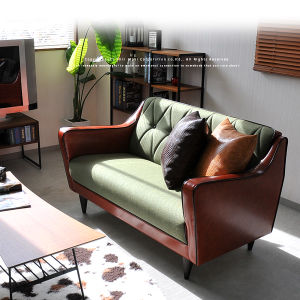 Leather Love Seat Sofa Chesterfield Sofa Set