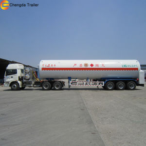 LNG Gas Carrier 52.6 M3 LNG Tank Trailer for Sale pictures & photos