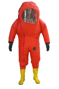 Chemical Protective Clothing/Heavy Rubber Suit/Rubber Chemical Suit pictures & photos