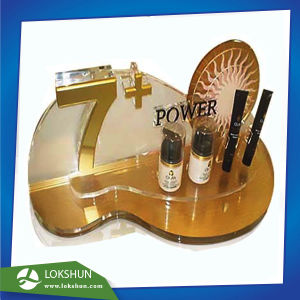 Customized Perspex Point of Sale Skincare Display, Acrylic Cosmetic Display  Supplier China
