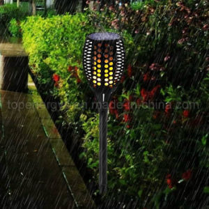 Solar Garden Torch Lights Dancing Flames LED Waterproof Wireless Landscape Light pictures & photos