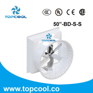 50 Inch Industrial Wall Mounted Quiet Exhaust Fans pictures & photos