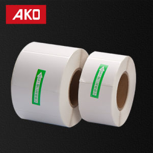"2""*1"" (50.8mm*25.4mm) White Matte Labels Thermal Coated Layer Self Adhesive Sticker Suitable for Zebra Printer pictures & photos"