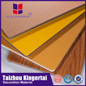 Alucoworld Recycled Design Drawing ACP with 4mm 3mm 5mm Thick Fascia Panels pictures & photos