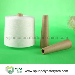 Spun Polyester Yarn in Optical White (40s/2)