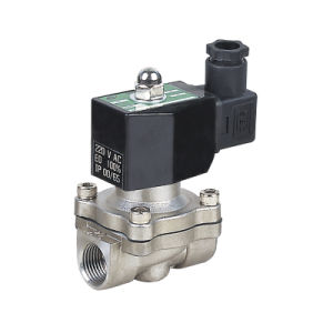 Hot Cold Water Stainless Solenoid Valve for Air Gas pictures & photos