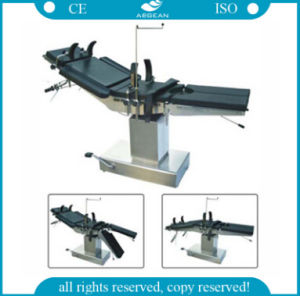 Hydraulic Operating Table Adjustable Hydraulic Operating Table Price (AG-Ot004) pictures & photos