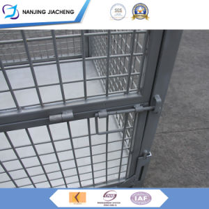 Heavy Duty Collapsible Wire Cage Mesh Box Container Mesh Box Wire Cage Metal Bin Storage Container & China Heavy Duty Collapsible Wire Cage Mesh Box Container Mesh Box ...