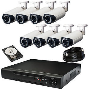 1080P/960p/720p Bullet Camera with All in One Monitor 8CH DVR Kit pictures & photos