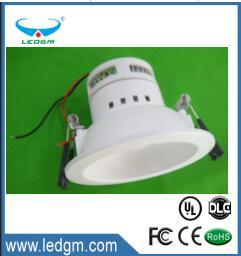 "4"" LED Down Light CRI90 Warm White 2700k 5 Years Warranty E26 Gu24 LED Light Source Gimbal Trim LED Downlight 9W pictures & photos"