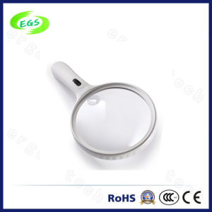 LED Magnifier Loupe Portable Handheld Jewellery Identifying Mini Magnifiers pictures & photos