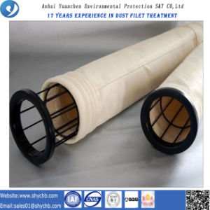 Hot Sale Calendering and Singed Air Filter Bag Nomex Dust Filter Bag pictures & photos