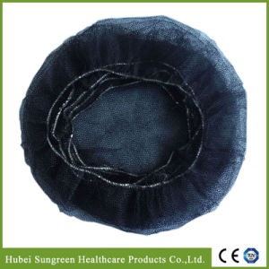 Nylon Hair Net with Black Color pictures & photos