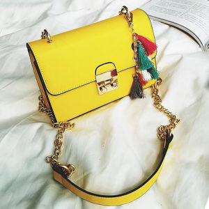 OEM Logo Wholesale Factory High-End Qualitied PU Girls Handbag Hot Selling Ladies Crossbody Shoulder Bags Sy8427 pictures & photos