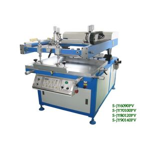 Tilted-Arm Vacuum Table Screen Printer (S-JY6090PV/70100PV/80120PV/90140PV)