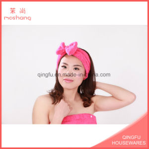 Microfiber Coral Fleece Make up Washing Face Headband
