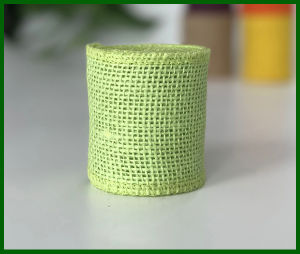 Colored Woven Jute Burlap Fabric Roll