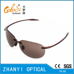 Sport Tr90 Sunglasses for Driving with Nylon Lense (S2081-C2)
