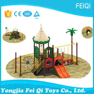 Best Choice Factory Price Plastic Slide Swing Set Castle Series (FQ-CL0252)