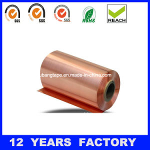0.05mm Thin Rolled Copper Foil Tape/ Copper Foil pictures & photos