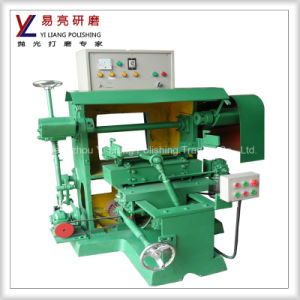 China Manufacturer High Efficiency Double Belt Sanding Machine