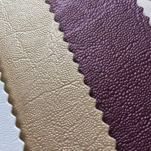 Synthetic PVC Leather for Hotel Wall Decoration pictures & photos