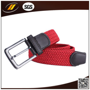 Elastic Woven Stretch Women Belt